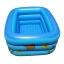 สระน้ำเด็กเป่าลม ขนาดใหญ่สะใจ 160cm ขอบ 3 ชั้น สีฟ้าสดใส ลายเพื่อนรักใต้ทะเล (แถมฟรี ห่วงยางคอเด็ก) thumbnail 2