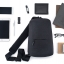 Xiaomi Multifunctional Urban Leisure Chest Pack - กระเป๋าเป้สะพายข้างเซี่ยวมี่ เออร์เบิน(สีเทาดำ) thumbnail 13