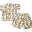 ชุดจิมเบอิ สีครีม ลายอักษรญี่ปุ่น ยี่ห้อ ILE VILLAGE S95 thumbnail 1
