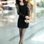**พรีออเดอร์** ชุดเดรสผู้หญิงแฟชั่นเกาหลีใหม่ แบบ 2 ชิ้น กระโปรงแยก หรือชิ้นเดียวกัน แขนยาว ลูกไม้ แบบเก๋ เท่ห์ / **Preorder** New Korean Fashion Lace Stitching Round Neck 2 pieces with Split Skirt or 1 piece Long-Sleeved Dress thumbnail 2