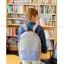 USE HOUSE กระเป๋าเป้ พรีเมียม BA054 สีม่วง พร้อมส่ง thumbnail 16
