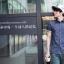 [พร้อมส่ง] เสื้อเชิ้ตแฟชั่นเกาหลีสำหรับผู้ชาย XL แขนสั้น เก๋ เท่ห์ - [In Stock] Men Korean Hitz Slim XL Short-sleeved Shirt thumbnail 1