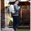 Kling / EXIT Premium Back pack(กระเป๋าเป้ สะพายหลัง) BA048 สีครีม พร้อมส่ง thumbnail 23