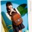 BEIBAOBAO Back packของแท้ (กระเป๋าเป้ สะพายหลัง) BA013 สีน้ำตาลเข้ม พร้อมส่ง thumbnail 1