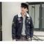 พรีออเดอร์ เสื้อกันหนาวแฟชั่นอเมริกา และยุโรปสไตล์ สำหรับผู้ชาย แขนยาว เก๋ เท่ห์ - Preorder Men American and European Hitz Style Slim Long-sleeved Jacket thumbnail 1