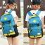 กระเป๋าเป้แฟชั่น MCJH MIKE DESIGNS (สีฟ้าเหลือง) thumbnail 1