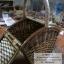 ตะกร้าปิคนิค กล่องปิคนิค กล่องหวายทรงบ้าน thumbnail 2