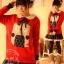 พรีออเดอร์ เสื้อกันหนาววัยรุ่นผู้หญิงสำหรับอายุ 18 -24 ปี แฟชั่นญี่ปุ่นใหม่ แขนยาว แบบเก๋ เท่ห์ - Preorder New Japanese Fashion Long-sleeved Sweater for Female age 18 24 years thumbnail 1