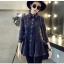[พรีออเดอร์] เสื้อเดรสสั้นแฟชั่นเกาหลี แบรนด์ Yozi Style แขนยาว - [Preorder] Women Korean Hitz Yozi Style Brand Slim Long-Sleeve Short Dress thumbnail 1