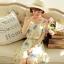 [พรีออเดอร์] เสื้อเดรสแฟชั่นเกาหลี แบรนด์ Kaven Dream สวยหวาน แขนกุด - [Preorder] Women Korean Hitz Kaven Dream Brand Sweet Slim Sleeveless Dress thumbnail 1