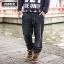 [พรีออเดอร์] กางเกงยีนส์แฟชั่นเกาหลีผู้ชายไซต์ใหญ่ size 36 - 46 ขายาว - [Preorder] Plus size Men ฺKorean Hitz size 36 - 46 Long Jeans thumbnail 1
