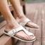 พรีออเดอร์ รองเท้าแตะหนัง PU เบอร์ 44-48 แฟชั่นเกาหลีสำหรับผู้ชายไซส์ใหญ่ เก๋ เท่ห์ - Preorder Large Size Men Korean Hitz Sandal thumbnail 3