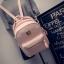 กระเป๋าเป้ผู้หญิง Sweet pastel สีชมพู ขาว ดำ thumbnail 1