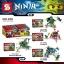 เลโก้จีน SY236 A-D ชุด Ninja Go Thunder Swordman