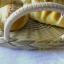 ตะกร้าหวายใส่ขนมปัง ตะกร้าสาน ถาดหวายเทียม ตะกร้าหวายเทียม thumbnail 3