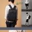 Kling/EXIT Premium Back pack(กระเป๋าเป้ สะพายหลัง) BA048 สีน้ำตาล พร้อมส่ง thumbnail 11