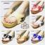 รองเท้าแฟชั่น Chanel ส้นเตารีด หนังนิ่มเนียน เรียบหรู แต่ง CC ที่ส้น พื้นบุนุ่ม สวมใส่สบาย thumbnail 2