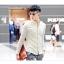 พรีออเดอร์ เสื้อเชิ้ตทำงานแฟชั่นเกาหลีสำหรับผู้ชาย แขนยาว เก๋ เท่ห์ - Preorder Men Korean Hitz Slim Long-sleeved Shirt thumbnail 1