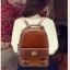 BEIBAOBAO Back packของแท้ (กระเป๋าเป้ สะพายหลัง) BA013 สีน้ำตาลเข้ม พร้อมส่ง thumbnail 20