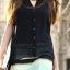[พรีออเดอร์] ชุดเดรสชีฟองผู้หญิงแฟชั่นเกาหลีใหม่ แขนกุด คอวี แบบเก๋ เท่ห์ - [Preorder] New Korean Fashion V-Neck Sleeveless Dress thumbnail 1