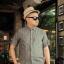 พรีออเดอร์ เสื้อเชิ้ตทำงาน ไซต์ M - 3XL แฟชั่นเกาหลีสำหรับผู้ชายไซต์ใหญ่ แขนสั้น เก๋ เท่ห์ - Preorder Large Size Men Size M - 3XL Korean Hitz Short-sleeved Shirt thumbnail 1