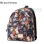 MR.ACE HOMME Back pack(กระเป๋าเป้ สะพายหลัง) BA047 Vintage Rose พร้อมส่ง thumbnail 4