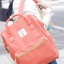 กระเป๋าเป้ Anello coral pink (Standard) ผ้าโพลีเอสเตอร์แคนวาส กันน้ำ thumbnail 2