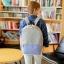 USE HOUSE กระเป๋าเป้ พรีเมียม BA054 สีม่วง พร้อมส่ง thumbnail 1
