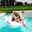 ห่วงยางเล่นน้ํา แพยางหงส์ ขาวสุดฮิต Giant Swan Inflatable งานเมกา thumbnail 6