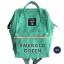 กระเป๋าเป้ Anello canvas emerald green (Mini) thumbnail 1