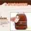 BEIBAOBAO Back packของแท้ (กระเป๋าเป้ สะพายหลัง) BA013 สีน้ำตาลเข้ม พร้อมส่ง thumbnail 15