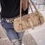กระเป๋าสานหวายเทียม กระเป๋าหวายสานสไตส์ญี่ปุ่น กระเป๋าหวาย thumbnail 3
