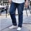 [พรีออเดอร์] กางเกงยีนส์แฟชั่นเกาหลีผู้ชายไซต์ใหญ่ size 36 - 48 ขายาว - [Preorder] Plus size Men ฺKorean Hitz size 36 - 48 Long Jeans thumbnail 1