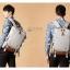 Kling / EXIT Premium Back pack(กระเป๋าเป้ สะพายหลัง) BA048 สีครีม พร้อมส่ง thumbnail 21