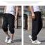 [พร้อมส่ง] กางเกงออกกำลังกาย ขายาว สำหรับผู้ชายไซส์ใหญ่่ 3XL แบบรัดข้อเท้า - [In Stock] Sport Long-legged Pants for Large Size Men 3XL thumbnail 2