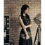 [พรีออเดอร์] ชุดเดรสชีฟองผู้หญิงแฟชั่นเกาหลีใหม่ คอกลม แขนกุด แบบเก๋ เท่ห์ - [Preorder] New Korean Fashion Slim Chiffon Round Neck Sleeveless Dress thumbnail 1