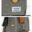 Back pack Use House (กระเป๋าเป้ สะพายหลัง) BA018 สีเทา พร้อมส่ง thumbnail 5