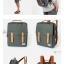 Back pack Use House (กระเป๋าเป้ สะพายหลัง) BA018 สีเทา พร้อมส่ง thumbnail 4