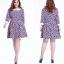 **พรีออเดอร์** ชุดเดรสแฟชั่นเกาหลีใหม่ ลายดอกไม้ น่ารัก สำหรับผู้หญิงไซส์ใหญ่ /**Preorder** New Korean Fashion Sweet Floral Pattern Dress for Large Size Woman thumbnail 1