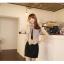 [พรีออเดอร์] ชุดเดรสผู้หญิงแฟชั่นเกาหลีใหม่ แขนกุด แบบเก๋ เท่ห์ - [Preorder] New Korean Fashion Slim Sleeveless Dress thumbnail 1