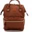 กระเป๋าเป้ Anello Leather Brown (Standard) หนัง PU กันน้ำ thumbnail 1