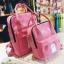 กระเป๋าเป้ Japan chic (กระเป๋าเป้สไตล์ญี่ปุ่น) สีชมพู thumbnail 1