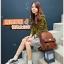 BEIBAOBAO Back packของแท้ (กระเป๋าเป้ สะพายหลัง) BA013 สีน้ำตาลเข้ม พร้อมส่ง thumbnail 3