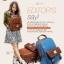 BEIBAOBAO Back packของแท้ (กระเป๋าเป้ สะพายหลัง) BA013 สีน้ำตาลเข้ม พร้อมส่ง thumbnail 17