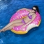 ห่วงยางเล่นน้ําแฟนซีโดนัสยักษ์ สีชมพู size 120 cm. thumbnail 4
