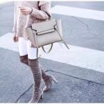 กระเป๋าหนัง CL micro saffiano