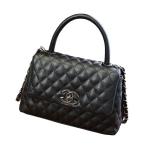 กระเป๋าหนัง รุ่น co-co (black)