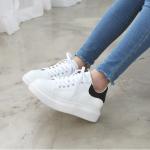 [Pre-Order]รองเท้าผ้าใบแฟชั่นผู้หญิง นำเข้าจากเกาหลีแท้ size 35-40