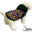 เสื้อสุนัข มีฮู้ด ลายหัวใจสีดำ thumbnail 1