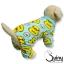 ชุดสุนัข กางเกง ลายเป็ด สีเขียว thumbnail 1